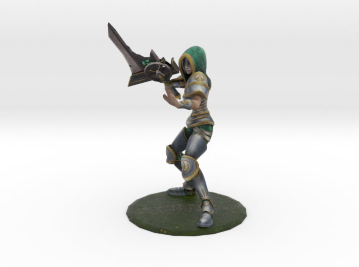 Redeemed Riven (old) 3d printed