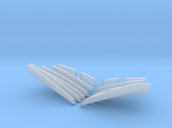1/35 US PT Class Elco Cradle Parts v1 3d printed