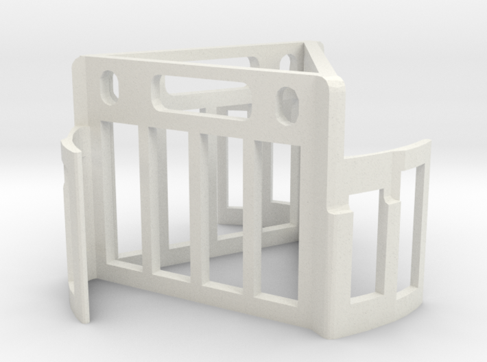 Oddy Test Hanger - triangular 3d printed Must print with 'print anyway' selected