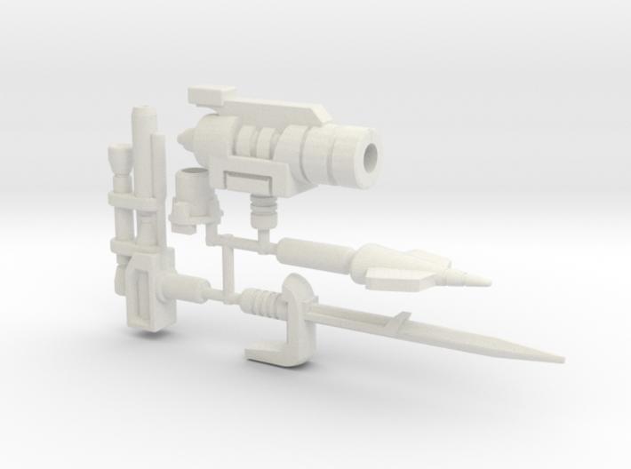 Dinobot Slash Arsenal (PotP) 3d printed