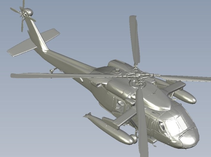1/400 scale Sikorsky UH-60 Black Hawk x 2 3d printed
