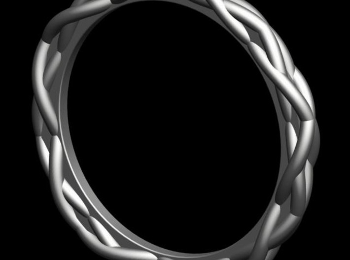Woven Ring 3d printed Photo Render