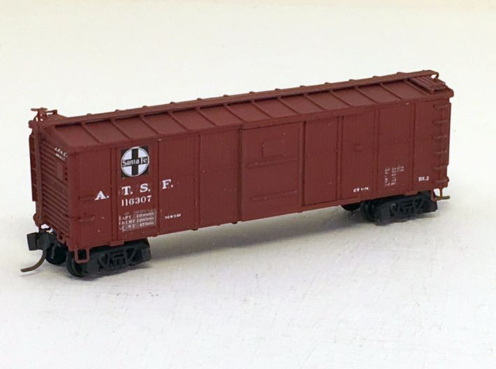 ATSF BOXCAR Bx-3/6, floor, model 1 3d printed