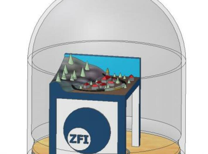 driving Z for ZFI 3d printed Modellbild