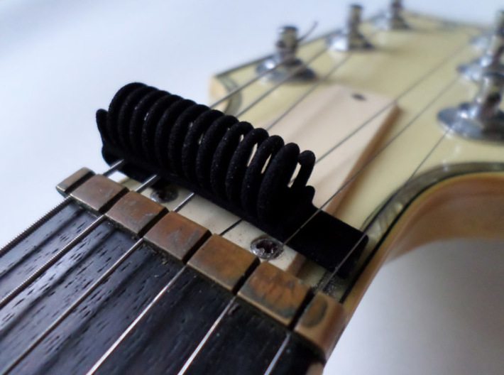 Guitar Pick Holder One Side 3d printed Guitar Pick Holder
