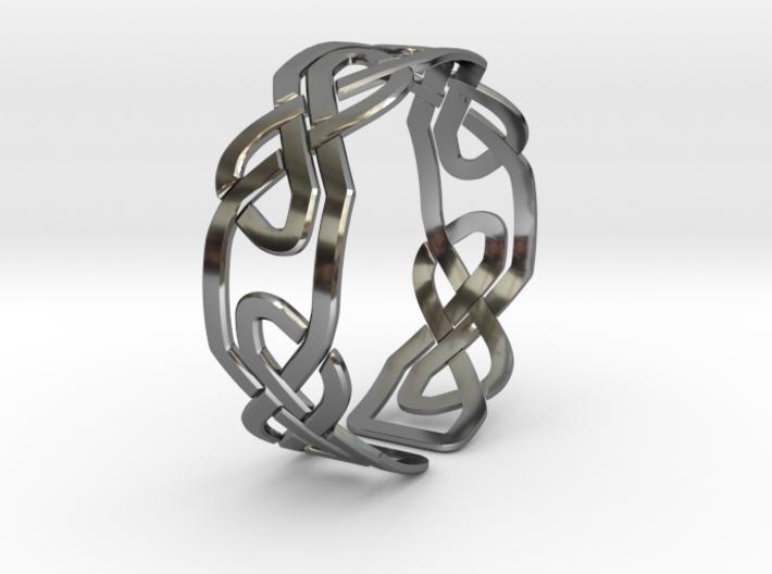 Celtic Knot Bracelet 3d printed