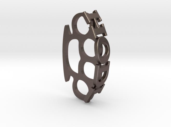 HODL Brassknuckle 3d printed