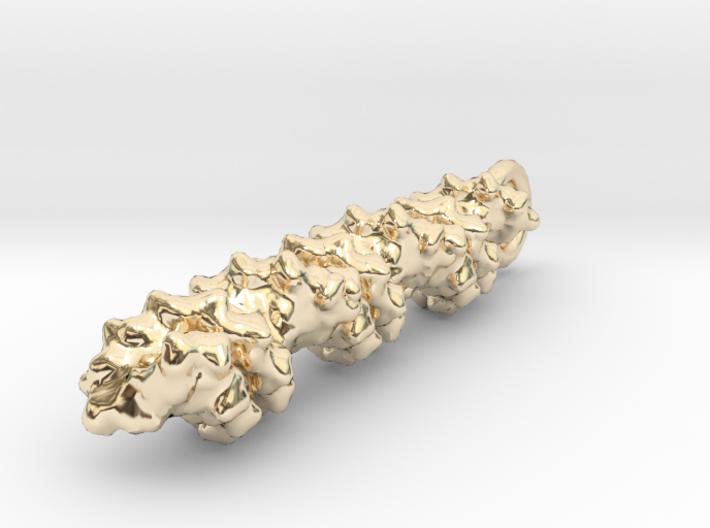 Molecular DNA Pendant 3d printed