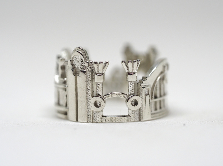 Cincinnati Ring - Saint Patric's Day Gift Idea 3d printed