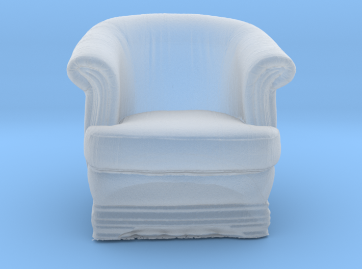 Printle Thing Armchair 01 - 1/43 3d printed