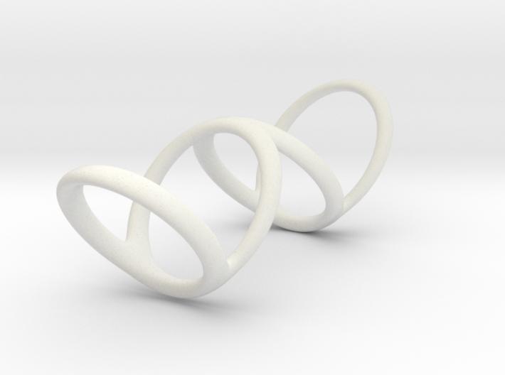 Ring for Bob L1 1 1-4 L2 1 3-4 D1 7 D2 9 1-2 D3 10 3d printed