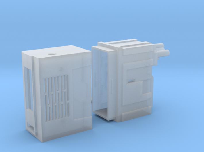 BlastFX - E11 Hengstler counter with Speaker Grill 3d printed