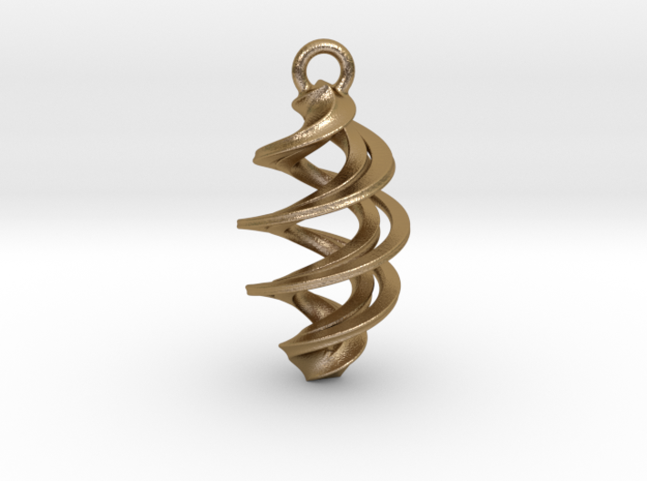 Twisted Spiral  3d printed