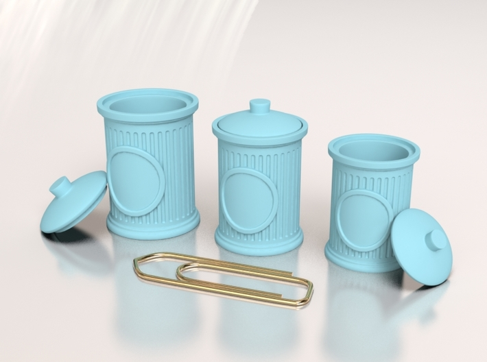 Cute Jar for Your Dollhouse, Size S 3d printed