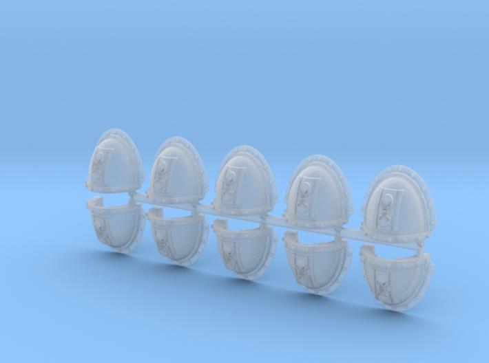 Skull Hourglass Mk3.5 Shoulder Pads 3d printed
