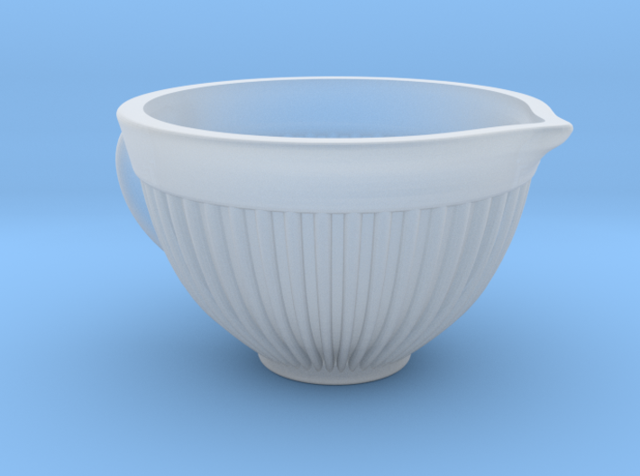 Mixing Bowl for Your Dollhouse, 1:12 scale 3d printed
