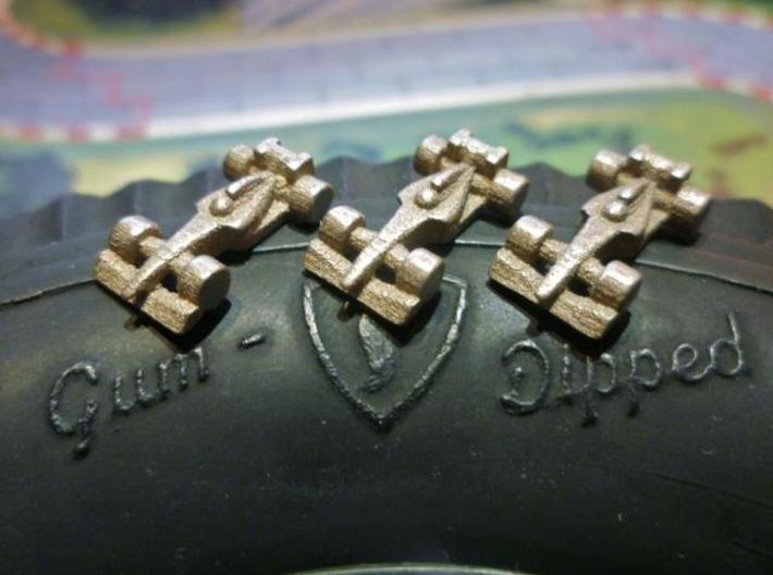 Formula 1 Miniatures - 2011 3d printed Stainless Steel 5