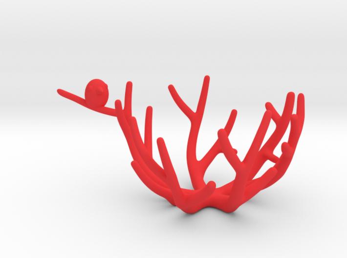 birdsnest-eggcup 3d printed