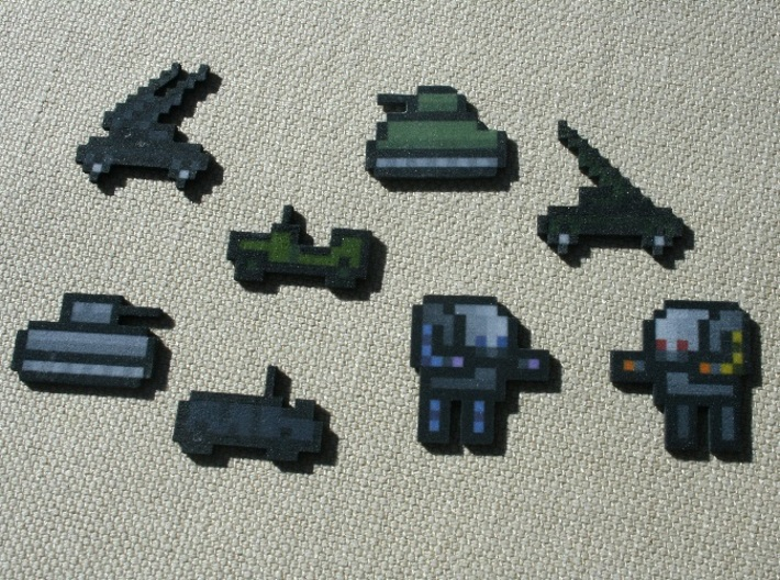 Flan's Mod Complete Vehicle Collection 3d printed