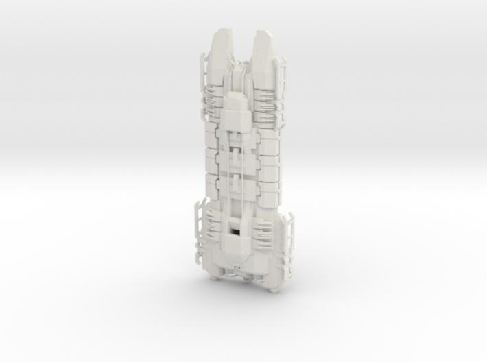 Hulk Mining Cruiser 3d printed