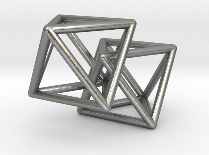 Interlocking Octahedron 3d printed