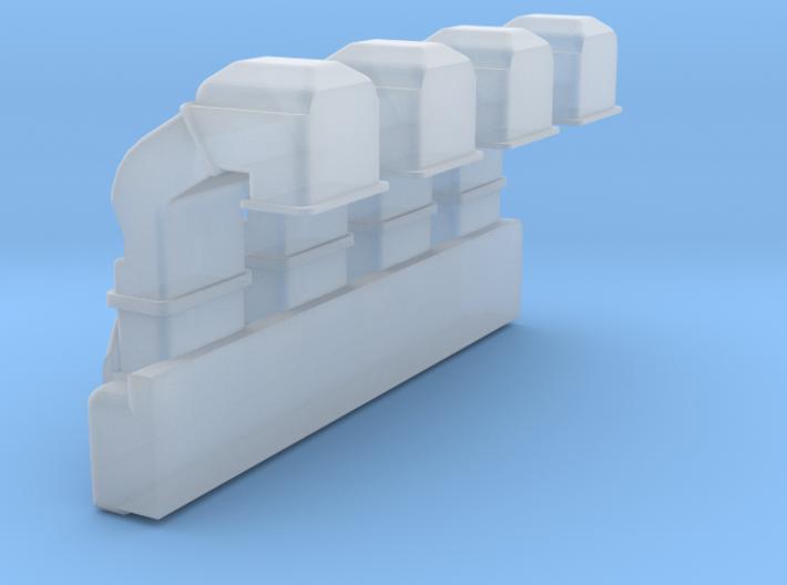 4SKRT Engine -Rocker Cover 3d printed