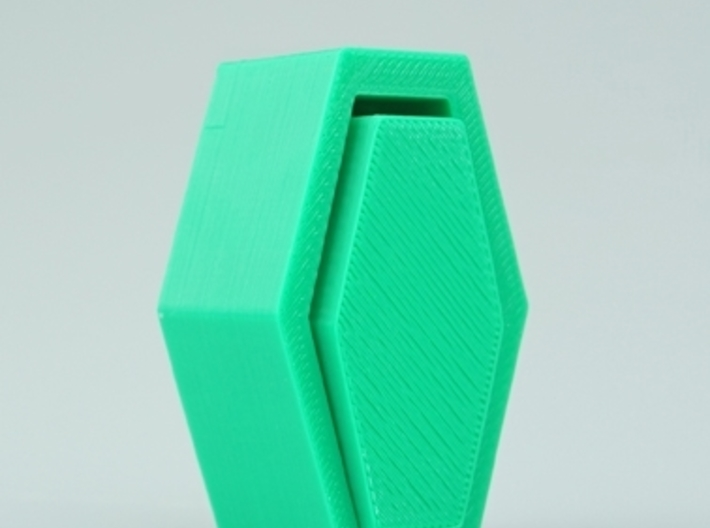 the monster mash coffin Iphone speaker 3d printed