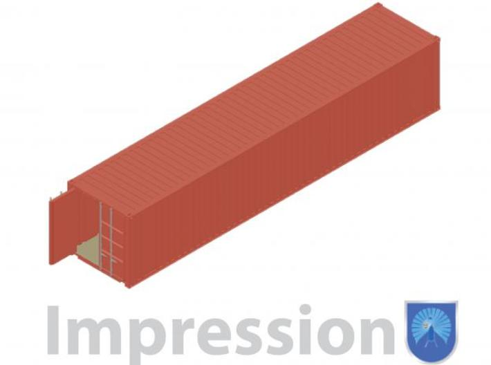 40ft shippingcontainer 3d printed impression of a shipping container type A
