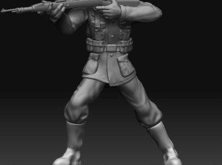 33mm Scale German Soldier 3d printed Description