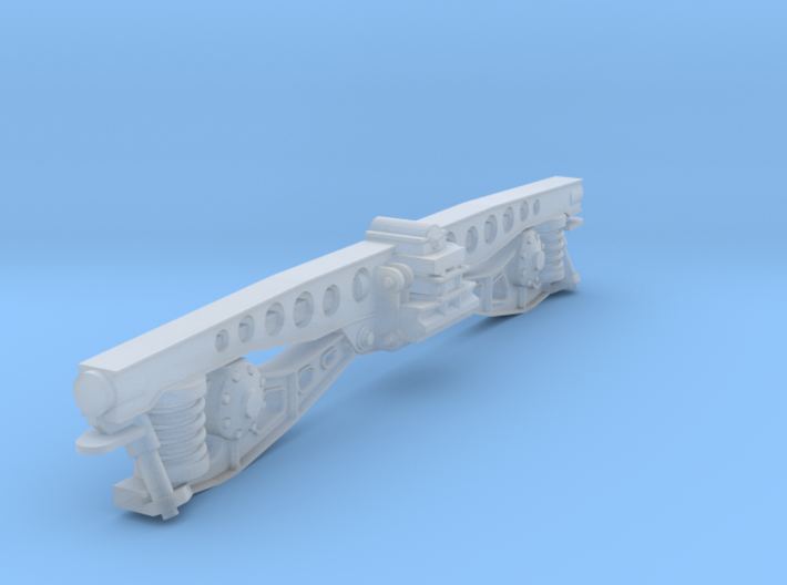 NS DE 1 DE 2 draaistel side. scale 0 (1:45) 3d printed