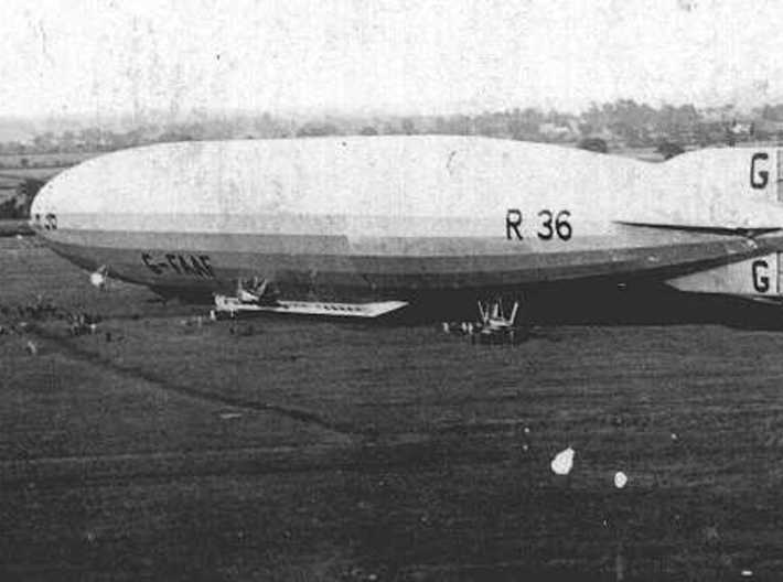 R36 1/1250 & 1/1200 scale (FD) 3d printed photo: Airship Heritage Trust