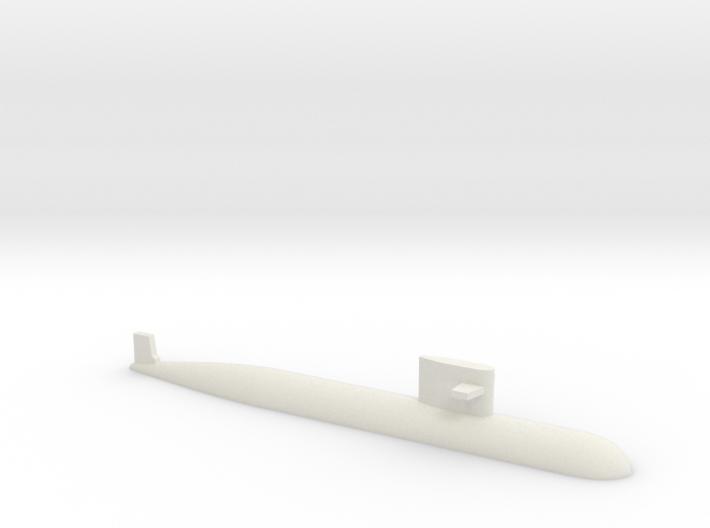 PLA[N] 093 Submarine, 1/1250 3d printed