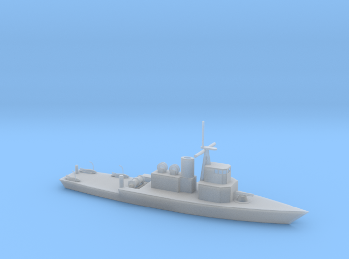 1/285 Scale USS Leader MSO 3d printed