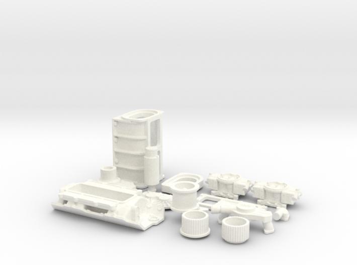 1/8 BBC GMC Blower System 3d printed