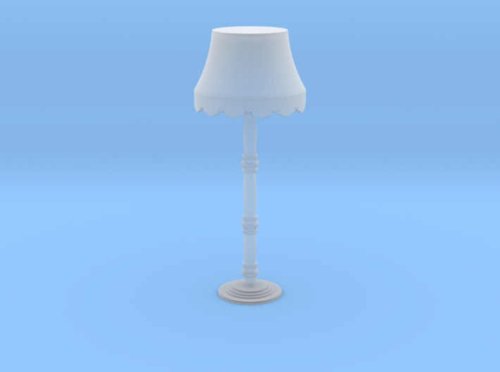 Victorian floor lamp 3d printed