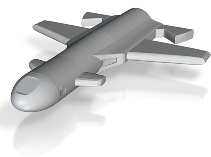 Space Plane 3d printed