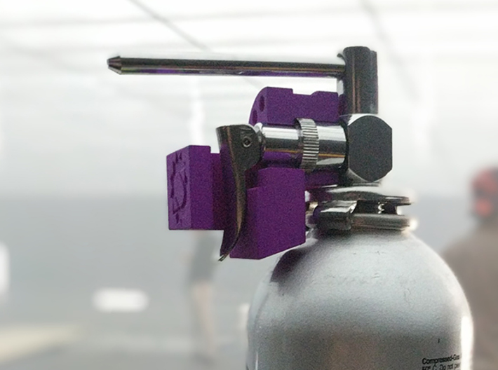 Canned Airlock 3d printed