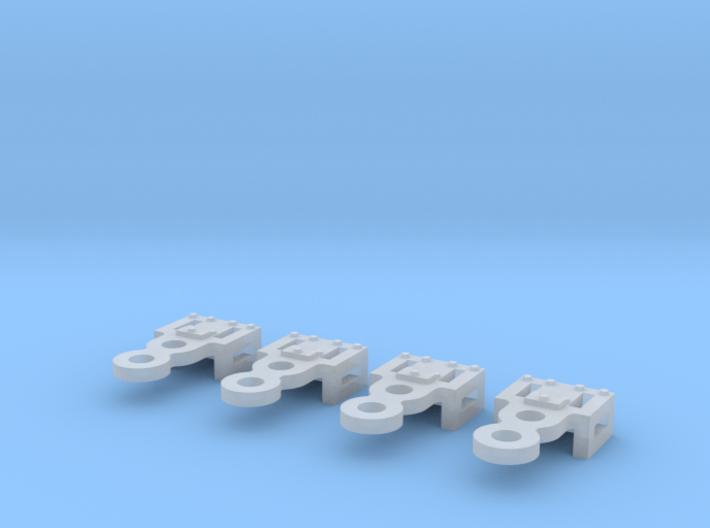 Replacment N Gauge Minitrix Crosshead x4 3d printed