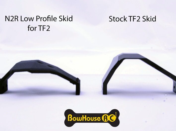 N2R Low Profile Skid for TF2 v4 3d printed