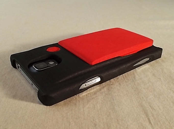 Samsung NOTE 3 kit-case 3d printed Samsung NOTE 3 kit-case shown with the ULTRA SLIM WalletAccessory