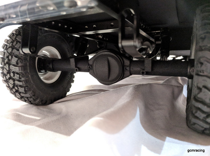 TMX Offroad Axle - Rear Leaf for CMAX and RC4wd 3d printed