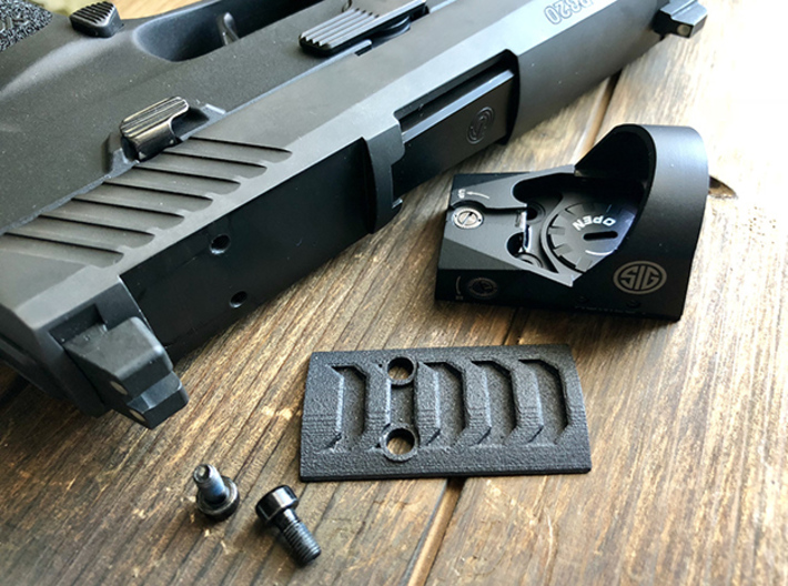 Razorback Optic Plate for SIG Romeo P320/P226 RX