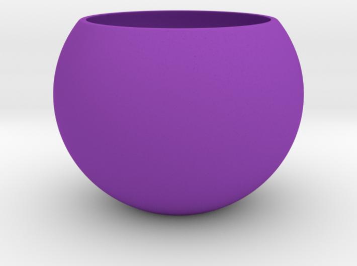 succulent planter pot for liquid ripple base 3d printed