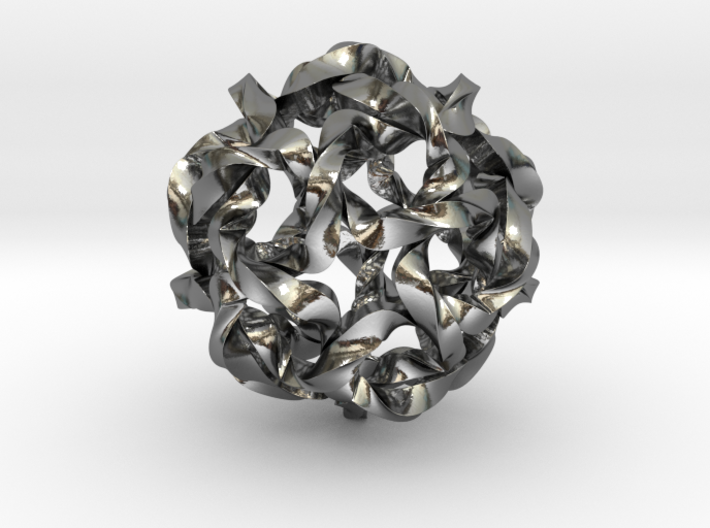 Knot Berry 3d printed
