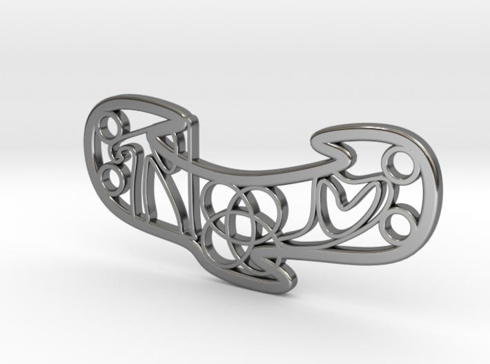 Personalised Celtic Knot Love Bracelet 3d printed Personalised Celtic Knot Love Bracelet
