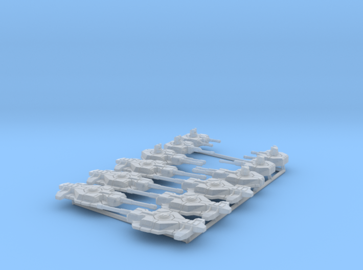 6mm Turret Variety Pack (12) 3d printed