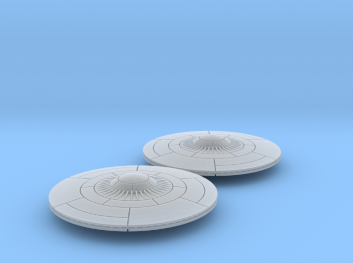 6mm Flying Saucers (2) 3d printed