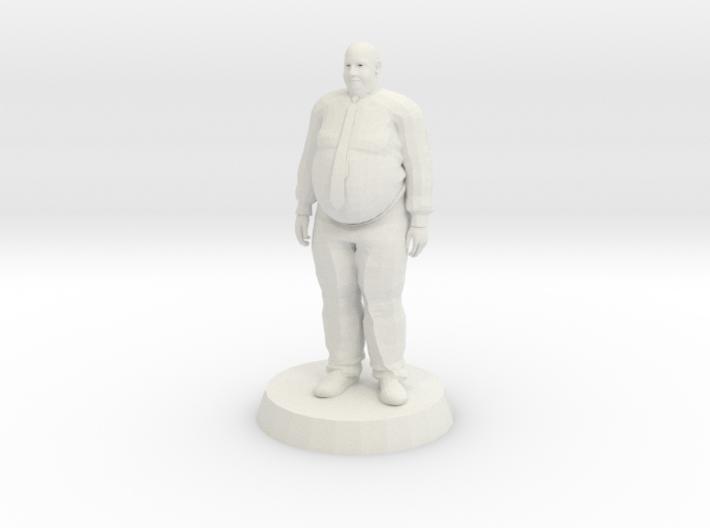 Fat Business Man 3d printed