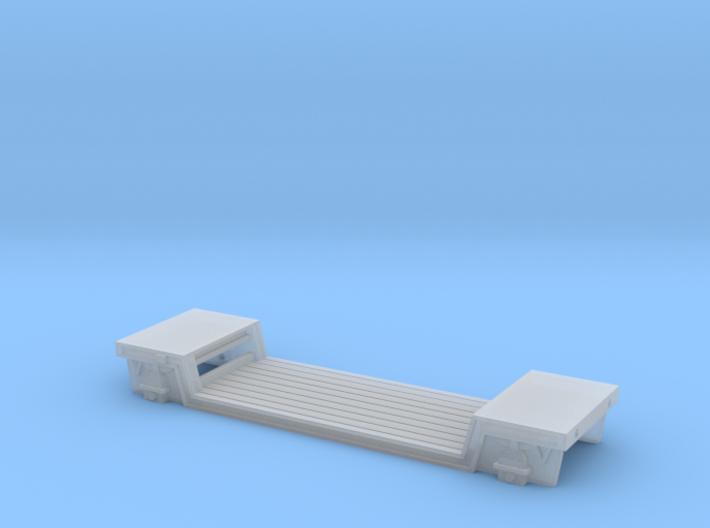 N Gauge GWR Loriot Y Machinery Wagon 3d printed