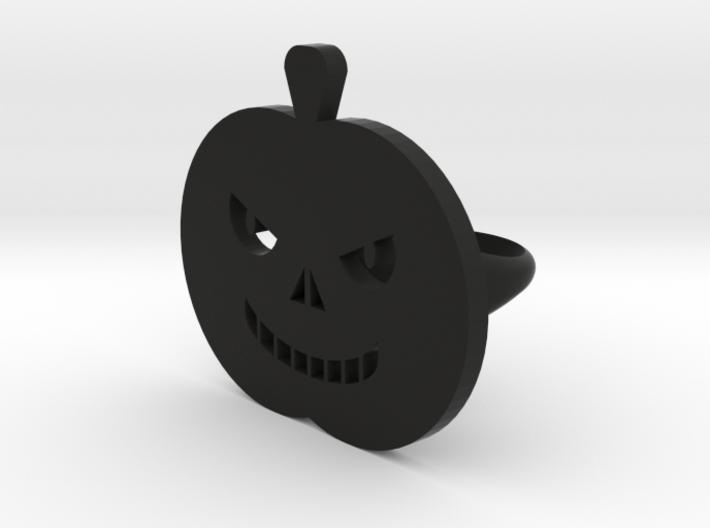 Pumpkin rings 3d printed